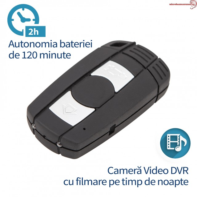 Telecomanda auto BMW camera video spion cu infrarosu