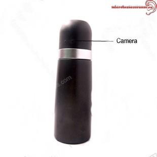 Camera spion mascata in butelie de apa penru sportivi
