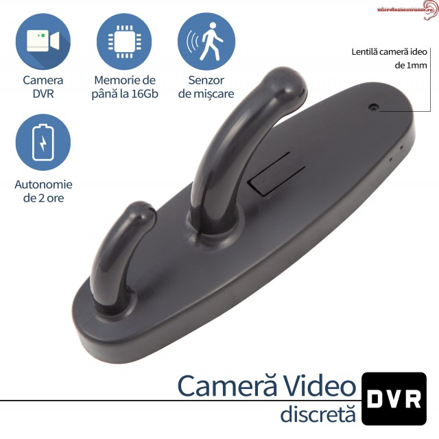 Cuier camera video full HD spion CCS055