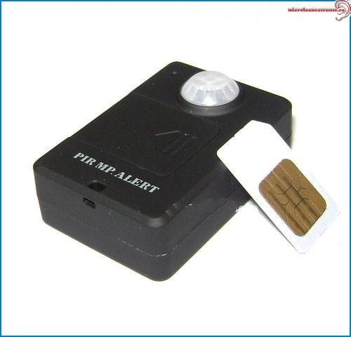Microfon spion GSM cu Detector de Miscare