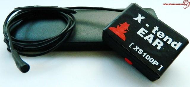 Microfon Gsm Spion Ultraclear 30 de ore, model profesional, 30 zile autonomie X-tendEAR30 cu functie AGPS