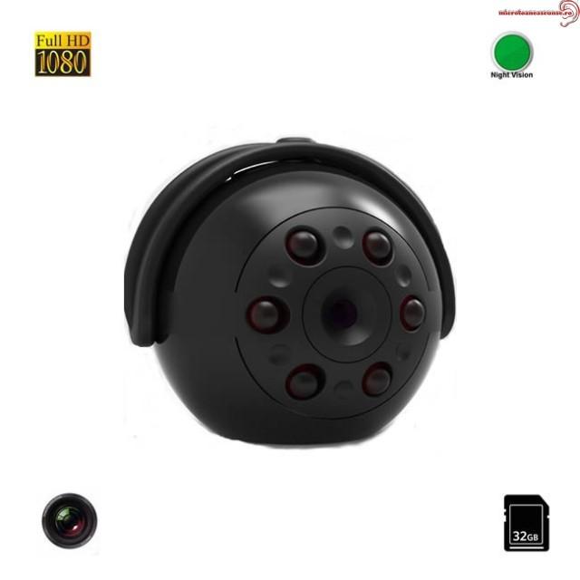 Nume *  Mini Camera Video Spy FULL HD 360° , 1080P, Senzor de Miscare, Nightvision, 32 GB MCSQ9