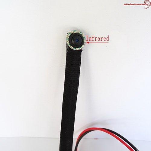 Micro camera ip spion wireless wi-fi cu infrarosu invizibil, detector de miscare