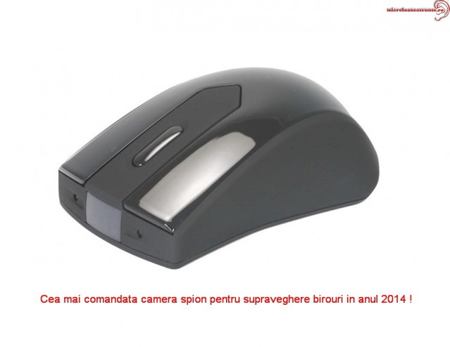 Mouse cu micro camera video spy profesionala 5MP
