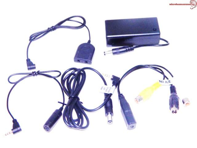 Mufa cablu profesionala cu microcamera pentru spionaj
