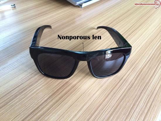 Camera spy ascunsa in ochelari de soare