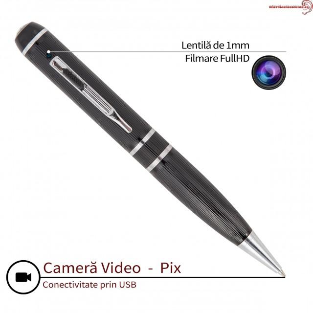Pix camera video spion configurabila Full HD 1080p – Model Profesional