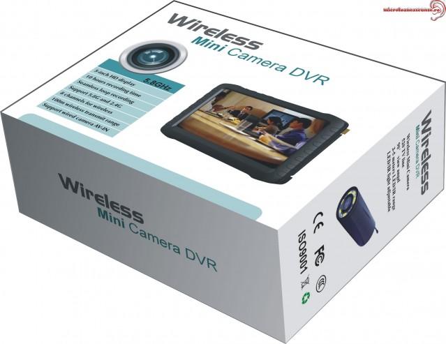 Receptor DVR wireless si cablu 5 inch DVRTE968HW58