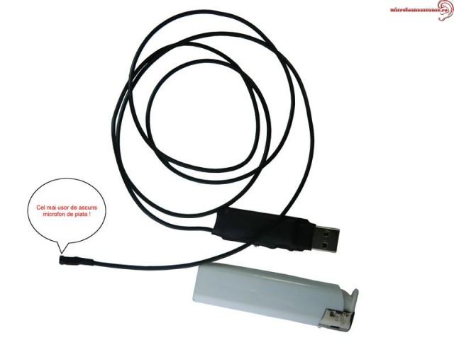 Modul reportofon pentru spionaj 279 de ore - 2mm