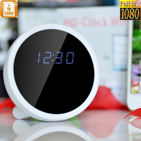 Ceas de masa (birou) cu mini modul camera pentru spionaj wi-fi ip p2p