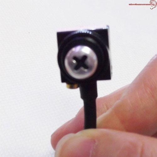 Cap surub cu microcamera CCTV pentru spionaj