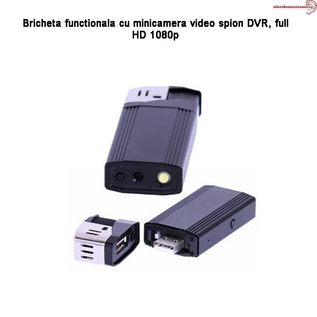 mini camera full hd spion integrata in bricheta functionala 120 minute autonomie 32gb. Black Bedroom Furniture Sets. Home Design Ideas