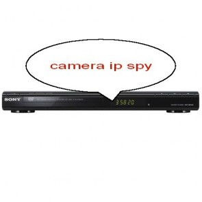DVD player cu camera ip wireless spionaj
