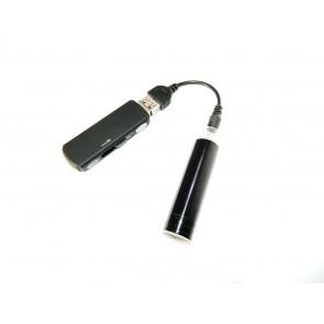 Adaptor baterie R6 pentru incarcarea reportofoanelor mascate in memorystick