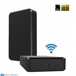 Minicamera video spion wi-fi ip + dvr, 32Gb, detector de miscare, 1920x1080p, alimante permanenta