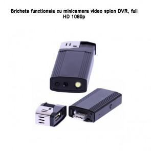 Mini camera FULL HD  spion integrata in bricheta functionala