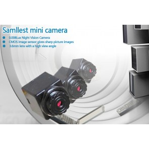 Minicamera video CCTV spion