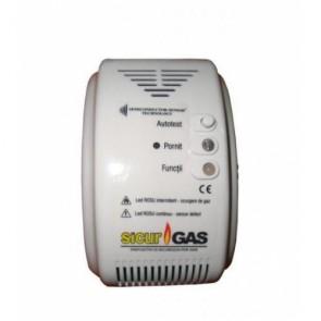 Detector de gaz reportofon spion cu activare vocala  – 8 Gb - 144 de ore