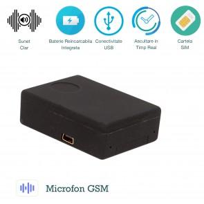 Microfon GSM spy xsmg 108 cu detectie voce