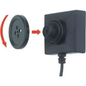 Nasture cu camera video profesionala si microfon spy