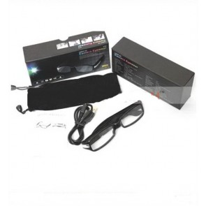 Ochelari spy microcamera video cu senzor de miscare