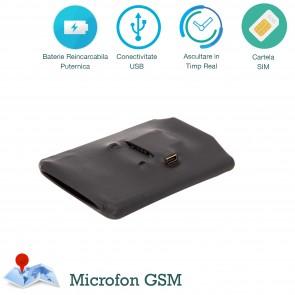 Dispozitiv de ascultare Microfon Spion Gsm PowerXL cu activare vocala 2 microfoane - 15 ore de ascultare