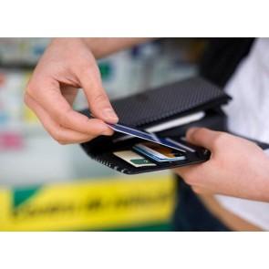 Reportofon spion profesional ascuns in card bancar  ,programabil , 1.5 mm Colibri