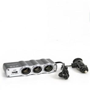 Tripla auto cu microfon reportofon spy cu activare vocala - 140  de ore